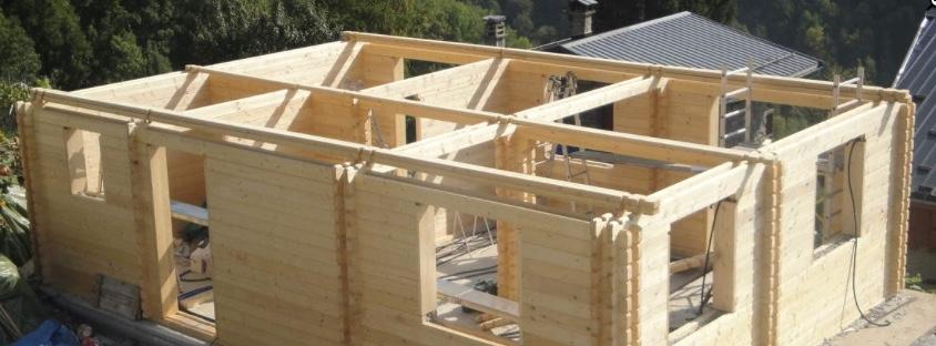 Une maison en kit en bois
