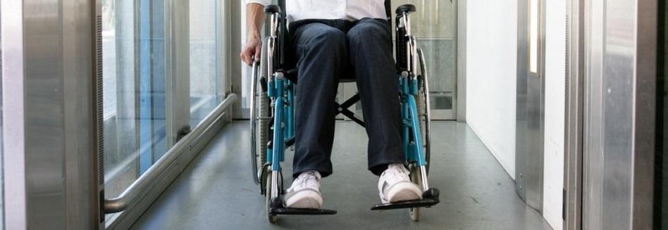 Illustration d'un accès handicapé