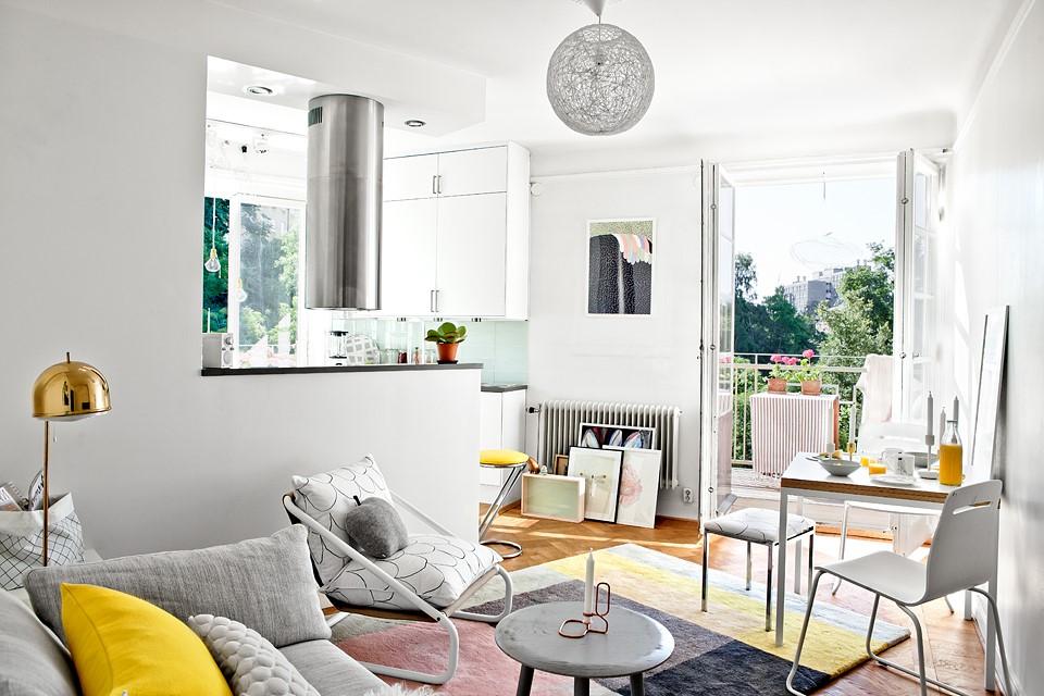 studio canapé cuisine
