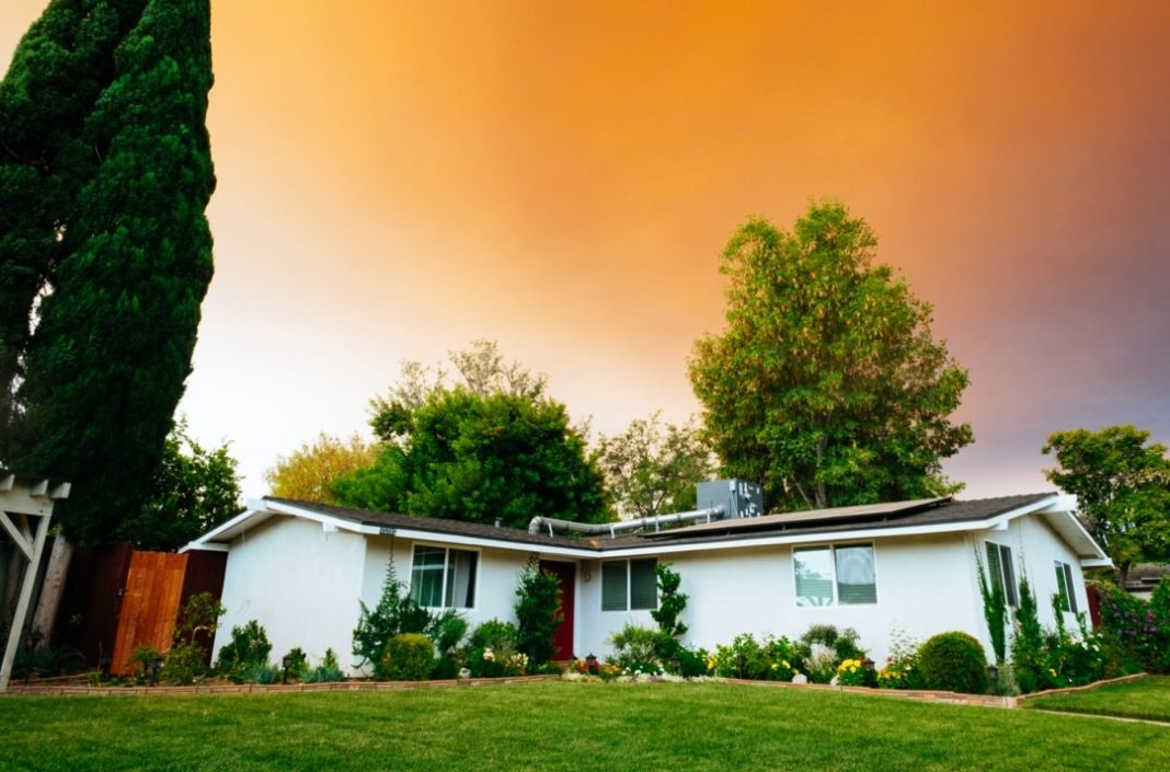 Maison avec climatiseur