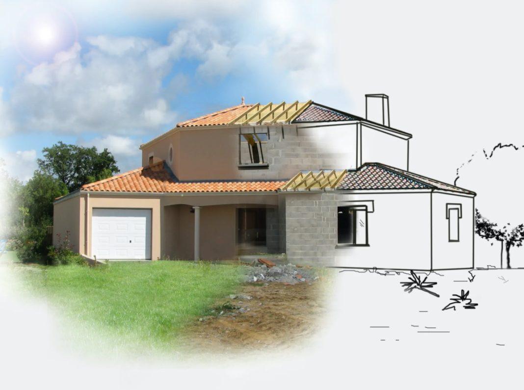 Maison individuelle dessin