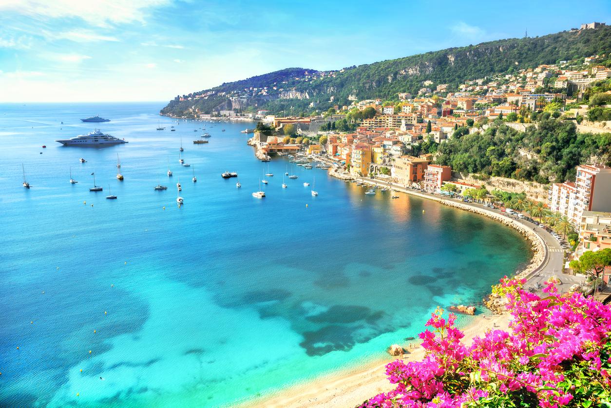 Un beau paysage de Villefranche-sur-mer