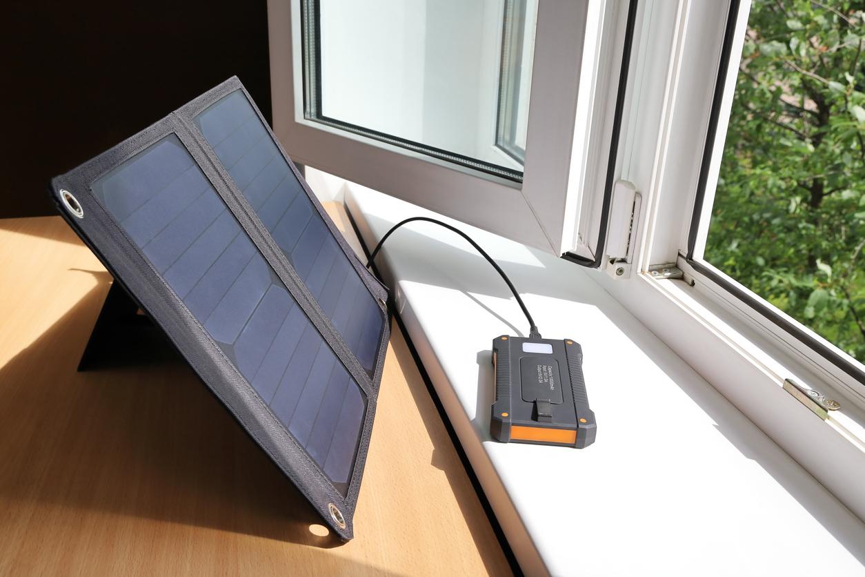 Un petit chargeur solaire