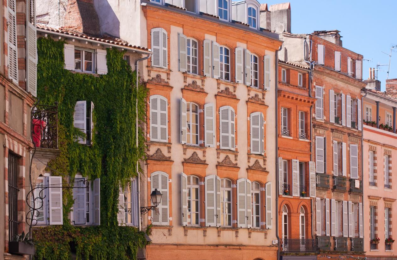 Un immeuble coloré