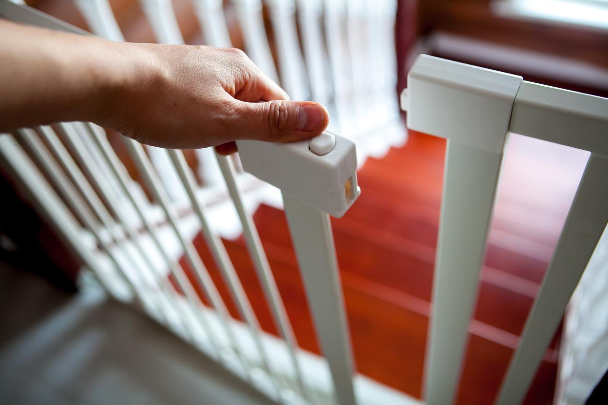 barrière sécurité enfant escalier