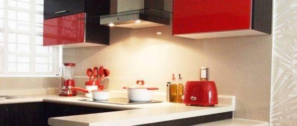 comment optimiser l 39 espace dans une petite cuisine. Black Bedroom Furniture Sets. Home Design Ideas