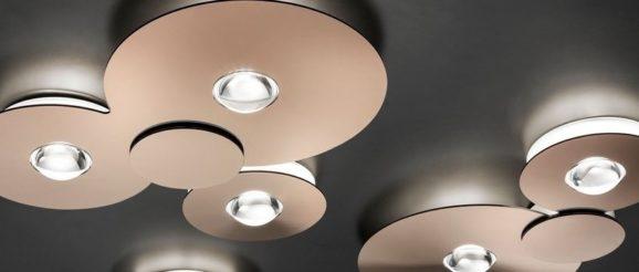 Un luminaire design avec des LED