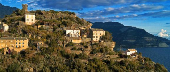 Paysage en Corse