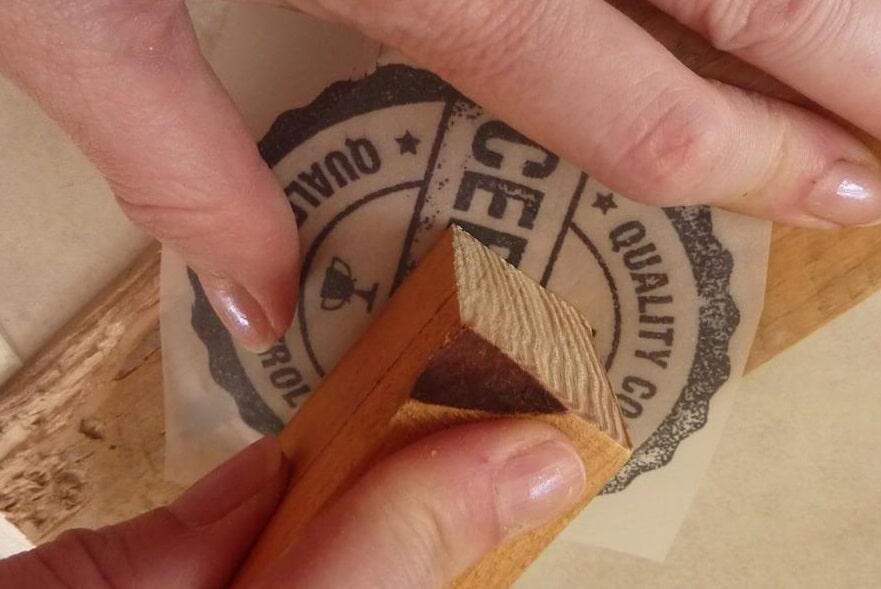 Imprimer image sur du bois