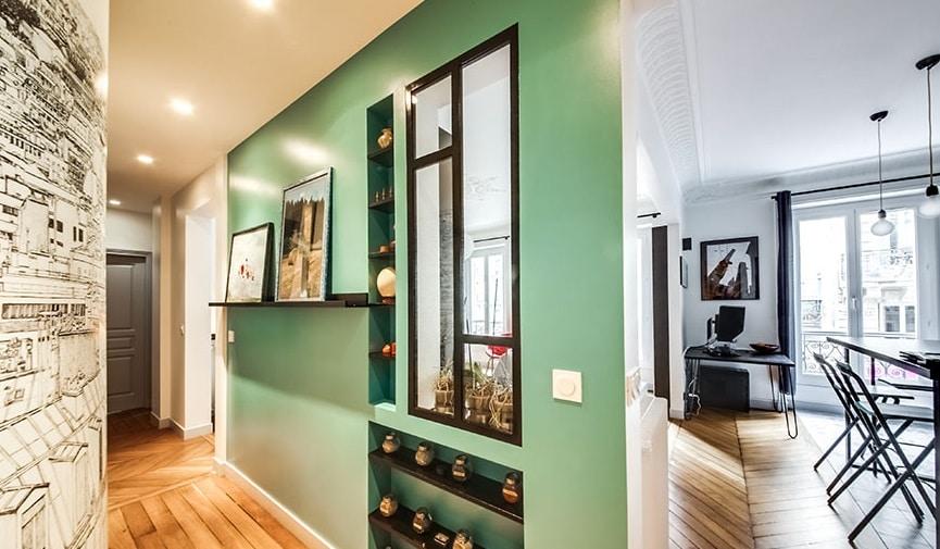 Appartement bien décoré