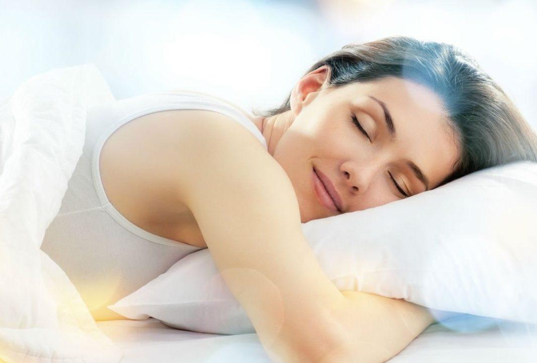 Oreiller femme sommeil